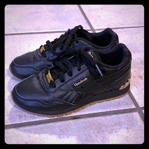 Size 1 Black Reebox's